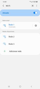 Como configurar uma rede Wi-Fi - Samsung Galaxy S21 Ultra 5G - Passo 8