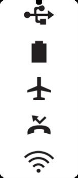 Explicação dos ícones - LG Velvet 5G - Passo 7