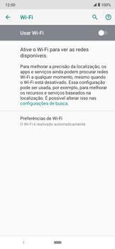 Como configurar uma rede Wi-Fi - Motorola Moto E6 Plus - Passo 5