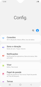 Como conectar à internet - Samsung Galaxy A10 - Passo 4