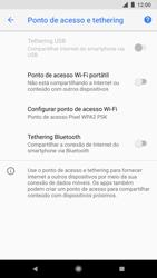 Como usar seu aparelho como um roteador de rede Wi-Fi - Google Pixel 2 - Passo 5