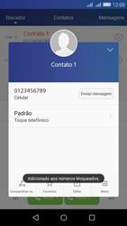 Como bloquear chamadas de um número específico - Huawei Y6 - Passo 7