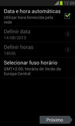 Como ativar seu aparelho - Samsung Galaxy S III Mini - Passo 6