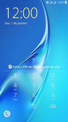Como configurar pela primeira vez - Samsung Galaxy J3 Duos - Passo 3