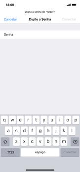 Como configurar uma rede Wi-Fi - Apple iPhone XR - Passo 5