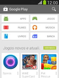 Como baixar aplicativos - Samsung Galaxy Pocket - Passo 4