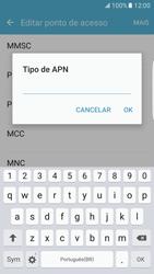 Como configurar a internet do seu aparelho (APN) - Samsung Galaxy S7 Edge - Passo 12