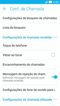 Como bloquear chamadas de um número específico - Asus ZenFone 3 - Passo 7