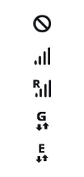 Explicação dos ícones - Samsung Galaxy S10 - Passo 1