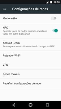 Como ativar e desativar o roaming de dados - Motorola Moto G5s Plus - Passo 4