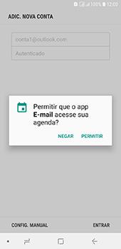 Como configurar seu celular para receber e enviar e-mails - Samsung Galaxy J6 - Passo 12