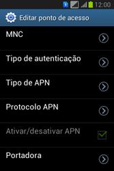 Como configurar a internet do seu aparelho (APN) - Samsung Galaxy Young - Passo 13