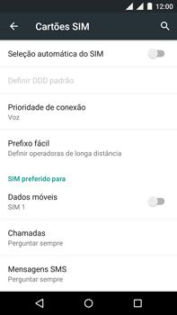 Como ativar e desativar uma rede de dados - Motorola Moto X Play - Passo 7