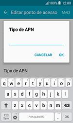 Como configurar a internet do seu aparelho (APN) - Samsung Galaxy J1 - Passo 12