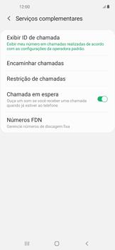 O celular não recebe chamadas - Samsung Galaxy A11 - Passo 17