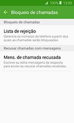 Como bloquear chamadas de um número específico - Samsung Galaxy J1 - Passo 7