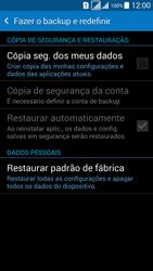 Como restaurar as configurações originais do seu aparelho - Samsung Galaxy Grand Prime - Passo 5