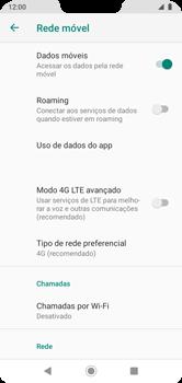 Como melhorar a velocidade da internet móvel - Motorola Moto G7 Power - Passo 8