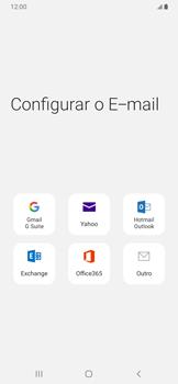 Como configurar seu celular para receber e enviar e-mails - Samsung Galaxy A20 - Passo 6
