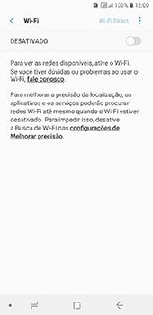 Como configurar uma rede Wi-Fi - Samsung Galaxy J6 - Passo 5