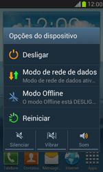 Como reiniciar o aparelho - Samsung Galaxy S III Mini - Passo 3