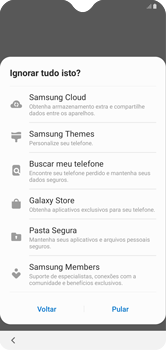 Como configurar pela primeira vez - Samsung Galaxy A10 - Passo 18