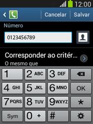 Como bloquear chamadas de um número específico - Samsung Galaxy Pocket - Passo 12