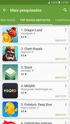 Como baixar aplicativos - Samsung Galaxy S7 - Passo 11