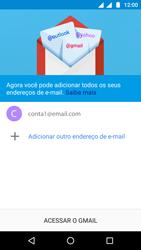 Como configurar seu celular para receber e enviar e-mails - Motorola Moto G5 - Passo 25