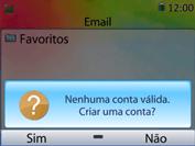 Como configurar seu celular para receber e enviar e-mails - Huawei U6020 - Passo 5