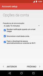 Como configurar seu celular para receber e enviar e-mails - Motorola Moto G (3ª Geração) - Passo 24