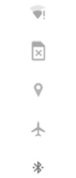 Explicação dos ícones - Motorola Moto G 5G Plus - Passo 4