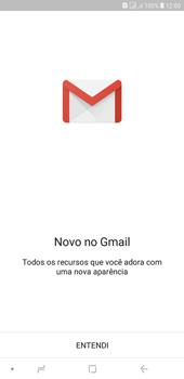 Como configurar seu celular para receber e enviar e-mails - Samsung Galaxy J4+ - Passo 5