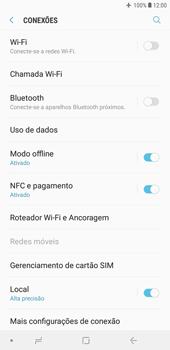 Como ativar e desativar o modo avião no seu aparelho - Samsung Galaxy J4+ - Passo 5