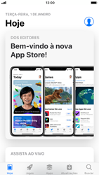 Como baixar aplicativos - Apple iPhone 6 - Passo 4