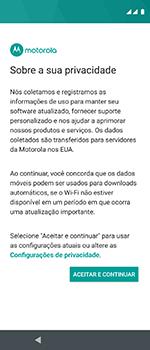 Como configurar pela primeira vez - Motorola One Vision - Passo 18