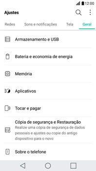 Como encontrar o número de IMEI do seu aparelho - LG G5 Stylus - Passo 3