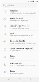 Como ativar e desativar uma rede de dados - Samsung Galaxy J4 Core - Passo 3