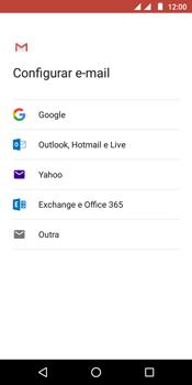 Como configurar seu celular para receber e enviar e-mails - Motorola Moto G6 Play - Passo 7