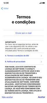 Como configurar pela primeira vez - Apple iPhone X - Passo 19