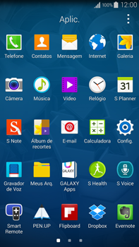 Como configurar uma rede Wi-Fi - Samsung Galaxy Note - Passo 2