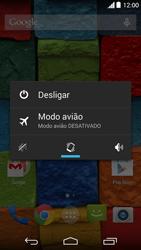 Como reiniciar o aparelho - Motorola Moto X (2ª Geração) - Passo 3