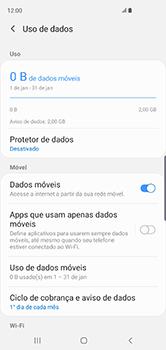 Como ativar e desativar uma rede de dados - Samsung Galaxy S10 - Passo 5