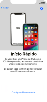Como configurar pela primeira vez - Apple iPhone X - Passo 7