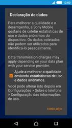 Como ativar seu aparelho - Sony Xperia M4 Aqua - Passo 12