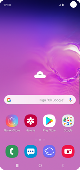 Como configurar seu celular para receber e enviar e-mails - Samsung Galaxy S10 - Passo 1