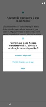 Como ativar seu aparelho - Motorola Moto G 5G Plus - Passo 14