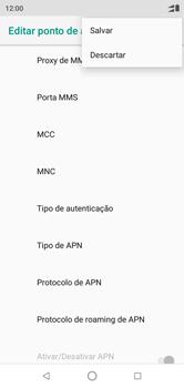 Como configurar a internet do seu aparelho (APN) - Motorola One - Passo 16