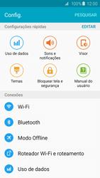 Como configurar uma rede Wi-Fi - Samsung Galaxy S6 - Passo 3