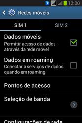 Como ativar e desativar uma rede de dados - Samsung Galaxy Young - Passo 6